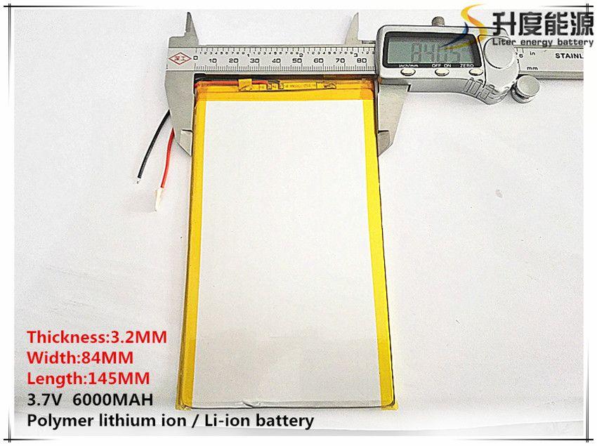 3,7 v 6000 mAH (polymer lithium-ionen-akku) li-ion akku für tablet pc 9,7 zoll 10,1 zoll lautsprecher [3284145] freies Verschiffen
