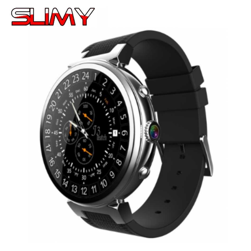 Visqueux I6 Montre Smart Watch Ram 2 GB/Rom 16 GB Nouveau MTK6580 Dispositifs Portables Bluetooth Smartwatch Téléphone Android 5.1 3G Smartwatch pour IOS