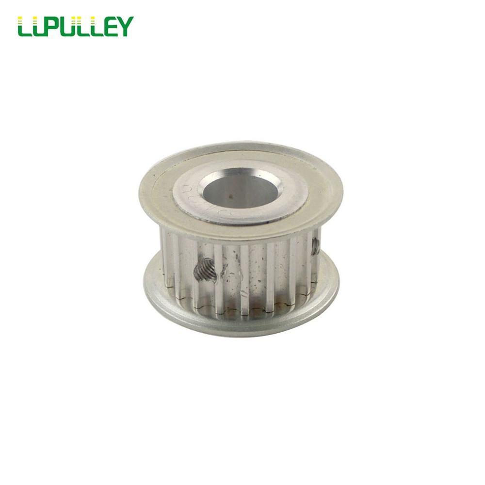 LUPULLEY 1 pc 5 m Poulie de Distribution 20 t Courroie Crantée 16mm Ceinture Largeur 5mm/6 mm/8mm/10mm/12mm/12.7mm/14mm/15mm Alésage diamètre