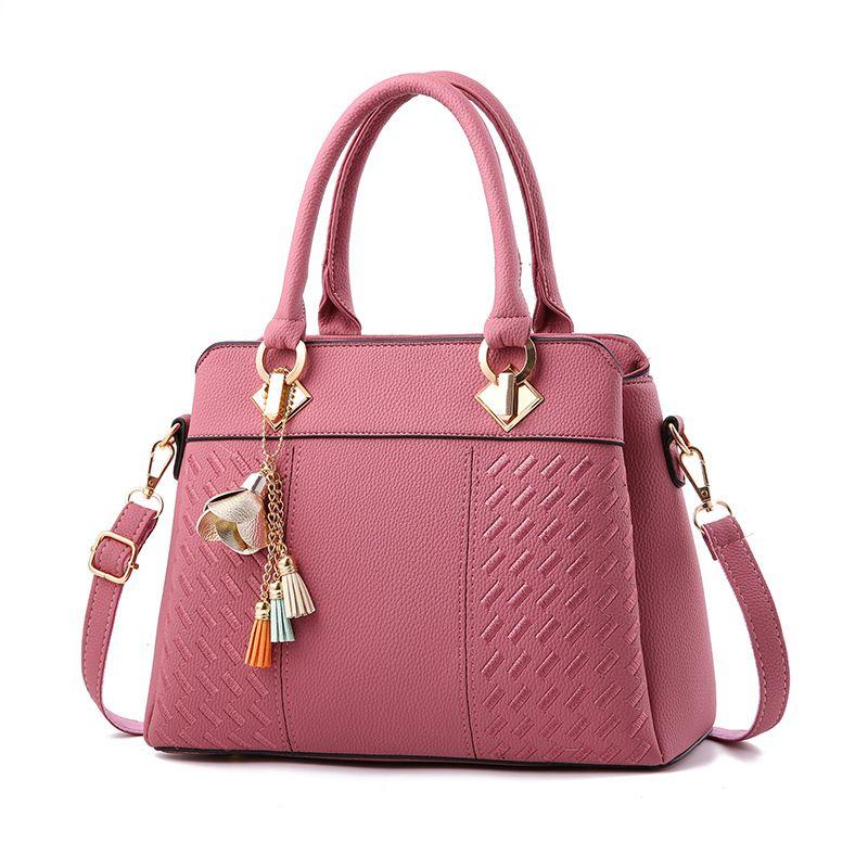 Female bag 2017 Brand Fashion Pendant Women Handbags Designer Ladies Hand Bags Shoulder High Quality PU Leather Bag Women
