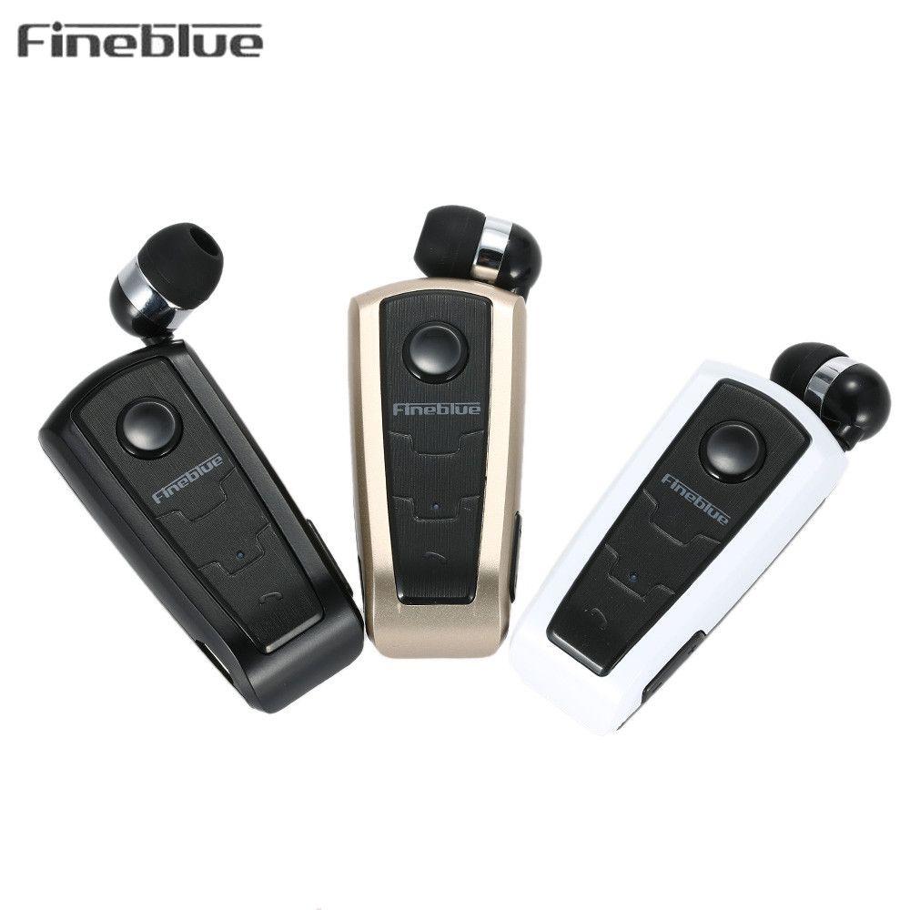 Chaude D'origine Fineblue F910 Sans Fil Bluetooth Écouteurs Casque Intra-auriculaires Alerte Vibrante Porter Clip Bluetooth Écouteurs Pour Téléphone