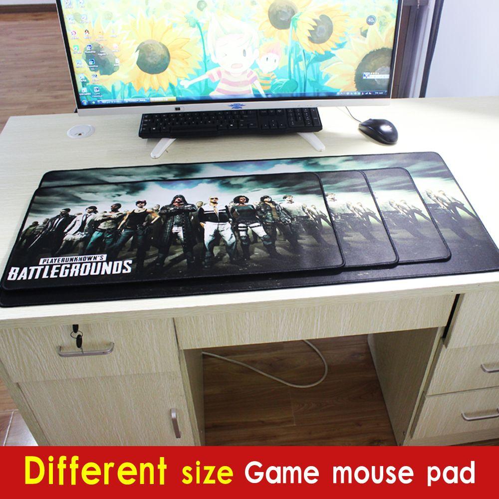 Pbpad XL gaming mouse pad playerunknown der schlachtfelder rastkante rutschfeste notebook-computer mauspad für game-spieler pads