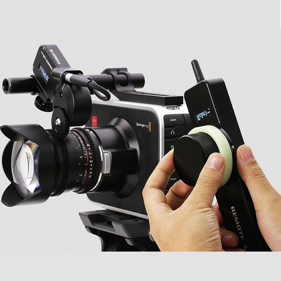 PDMOVIE Remote Air 2 PD1-N motorized wireless follow focus zoom focus for DSLR camera film lens EF carl zeiss UP MP lens