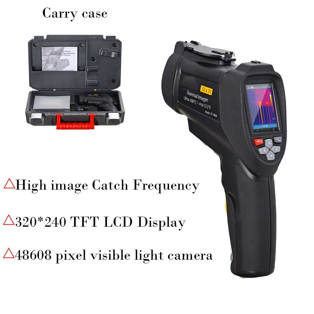 JK Handheld thermal imager Infrared Thermometer 320*240 Camera Infrared Thermometer