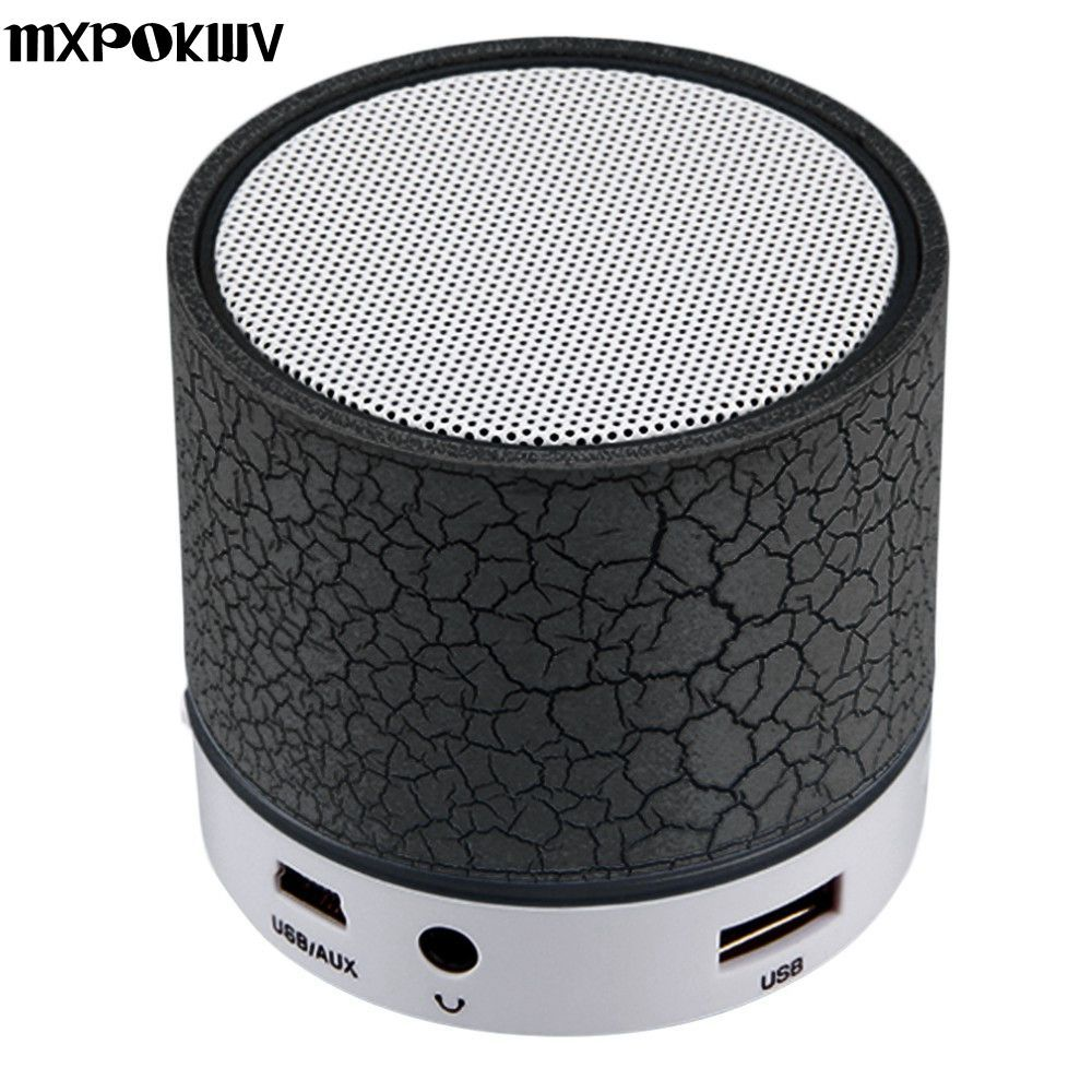 MXPOKWV A9 MP3 Player Mini Portable USB Loudspear Wireless Bluetooth Speaker Support TF Card For Phone Laptop PC Small Speaker
