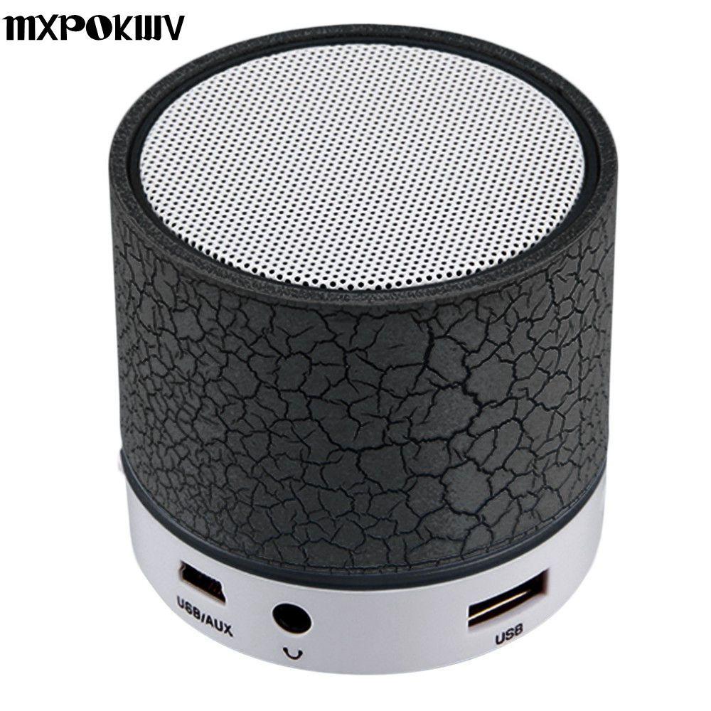 Mxpokwv A9 MP3-плееры мини Портативный USB loudspear Беспроводной Bluetooth Динамик Поддержка TF карты для телефона портативных ПК Малый Динамик