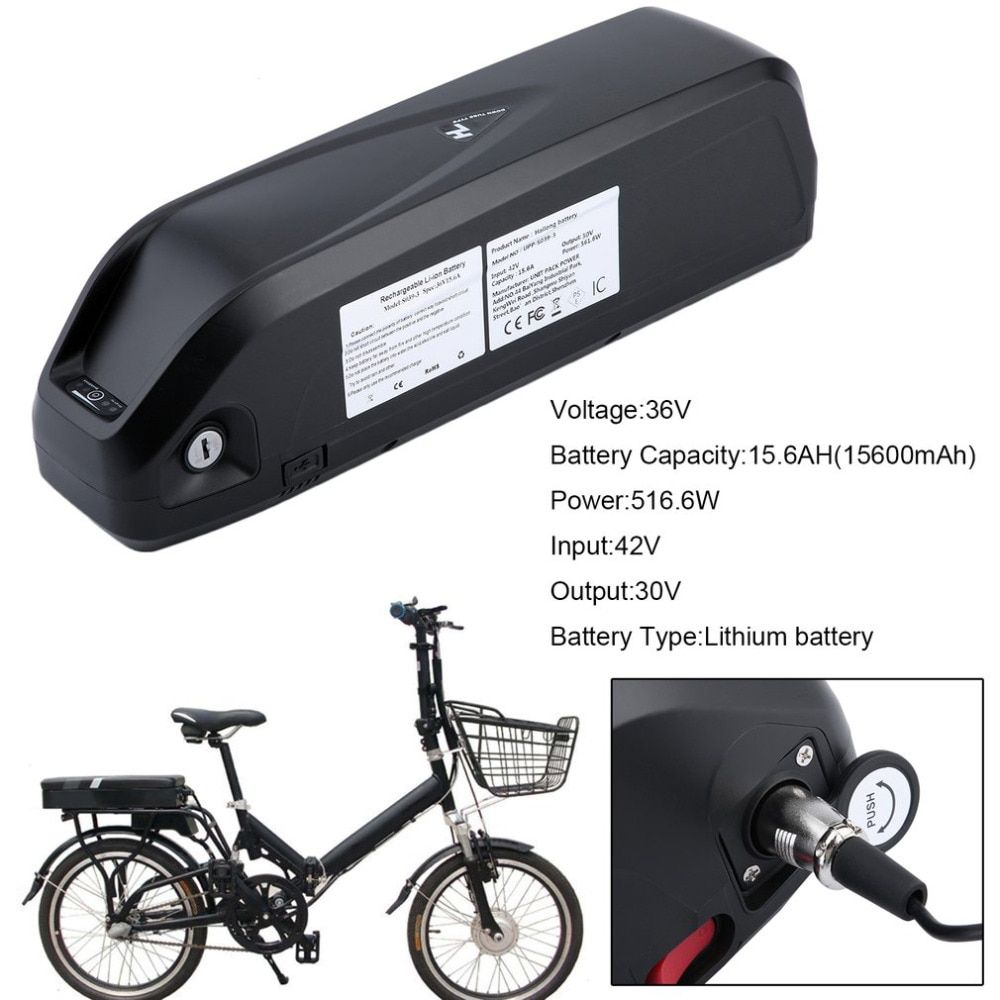 New 36V 15.6AH 561.6Wh Stable Replacement Lithium Battery Li-ion Battery For Electric Bicycle E-Bike Bicycles Mountain Bikes
