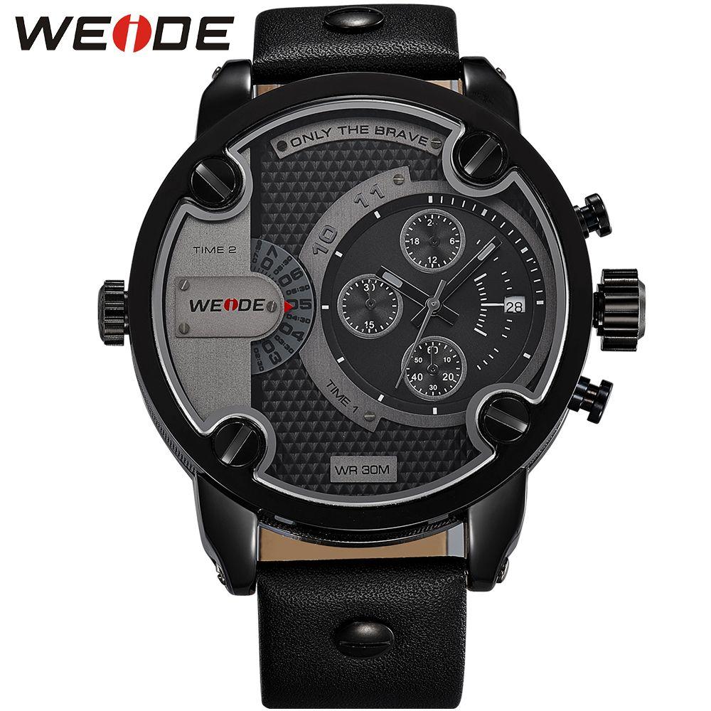 WEIDE Quartz Luxury Brand Analog Military Watch Sporty Army Relogio Masculino Clock orologio uomo zegarki men relojes Drop Ship