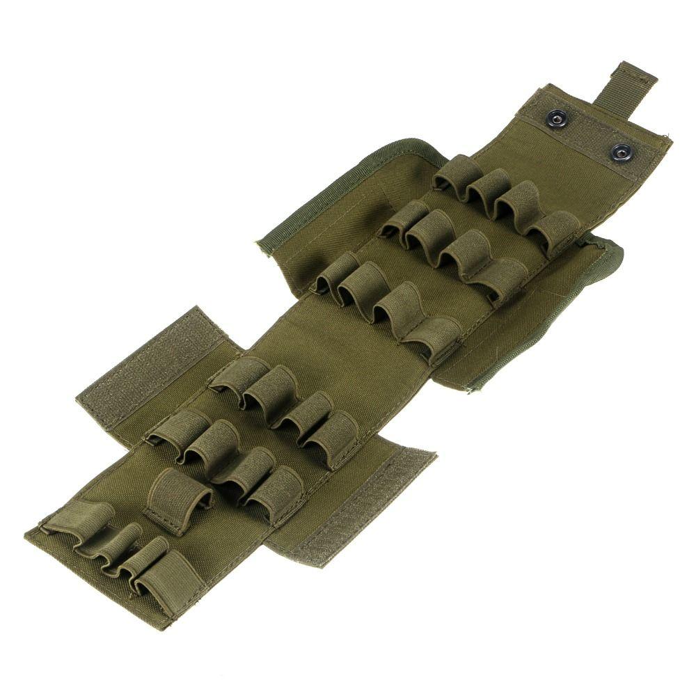 Taktische Magazintasche Reload 25 Runde 12GA Schalen Shotgun Patrone Ammo Tasche