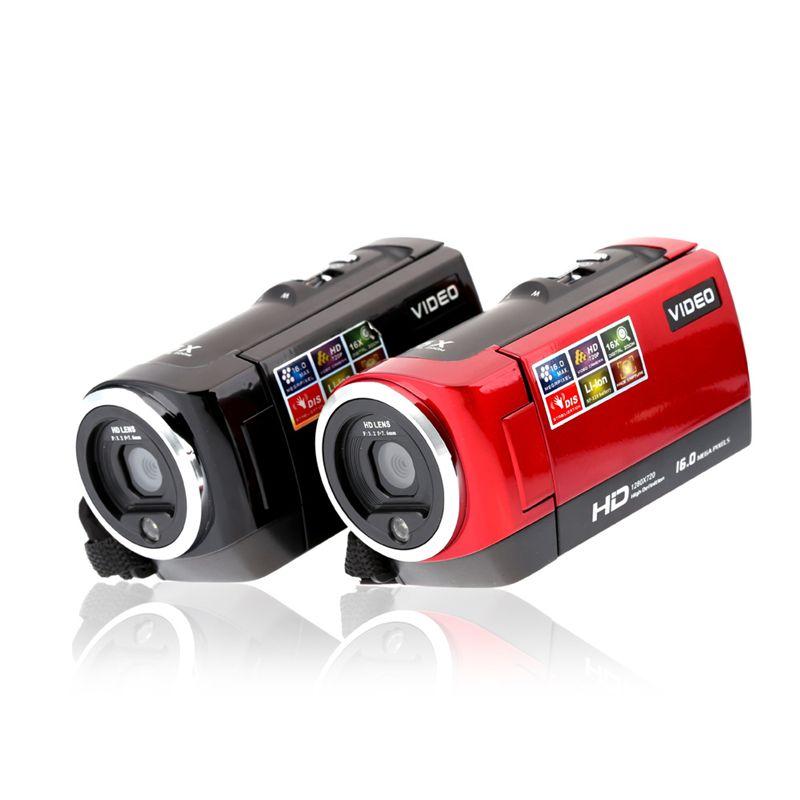HD 720P Digital Camera HDV Video Camera Camcorder 16MP 16x Zoom COMS Sensor 270 Degree 2.7 inch  TFT LCD Screen
