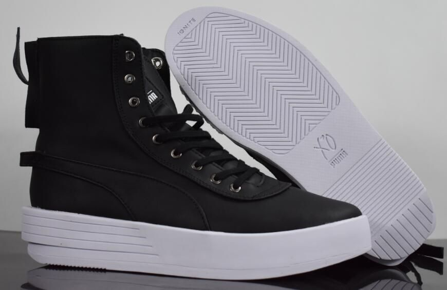 Original New Arrival PUMA Fierce Rope VR Sneakers High-Top Men's shoes Sneakers Badminton Shoes size40-45
