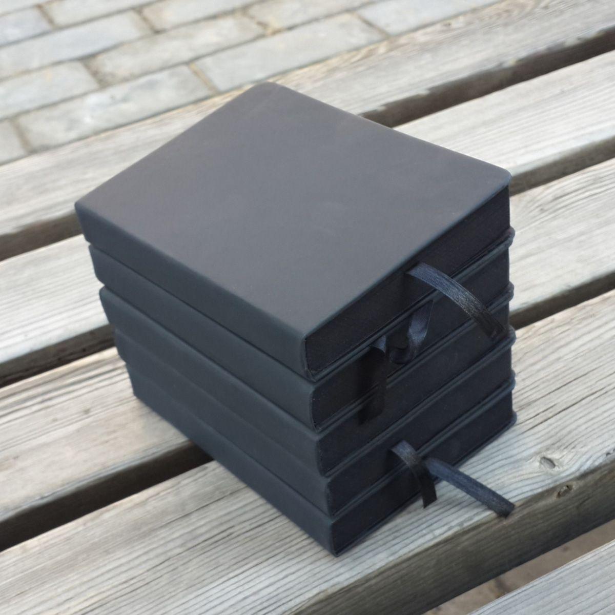 2019 A5/A6 housse en polyuréthane papeterie papier bloc-notes bricolage blanc noir journal créatif mignon graffiti carnet de notes papier carnet de croquis