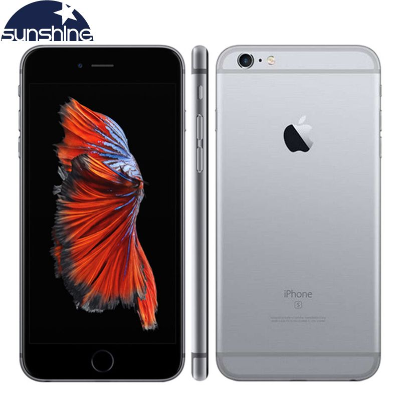 Original Unlocked Apple iPhone 6s Mobile phone 4.7'' IPS 12.0MP A9 <font><b>Dual</b></font> Core 2GB RAM 16/64/128GB ROM 4G LTE Smartphone