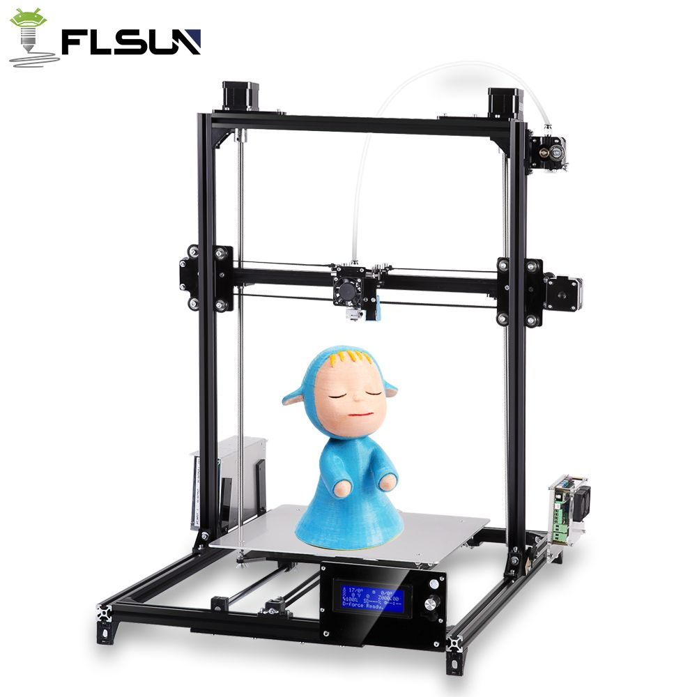 Shipping from Russian 3D printer I3 Printer Plus Size Autoleveling One rolls filament Gift