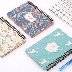 Lovely Kawai flamingo Calendar Mini Table Calendars Desk Calendar Office School Supplies 2018 Calendar Escolar Papelaria