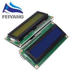 LCD1602+I2C LCD 1602 module Blue/Green screen PCF8574 IIC/I2C LCD1602 Adapter plate