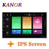 KANOR Octa Core RAM 4G ROM 32G 2 Din Android 8,0 coche estéreo de Audio Radio con GPS WiFi universal navegación GPS Video unidad de cabeza