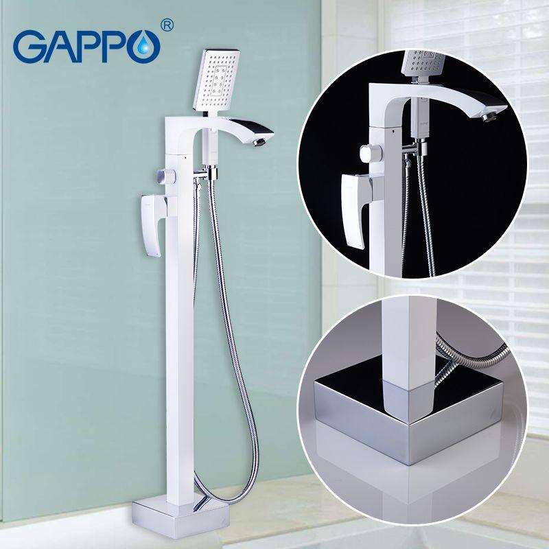 GAPPO badewanne armaturen mischer wasserfall bad wasserhahn messing mixer tap stand bad niederschläge armaturen