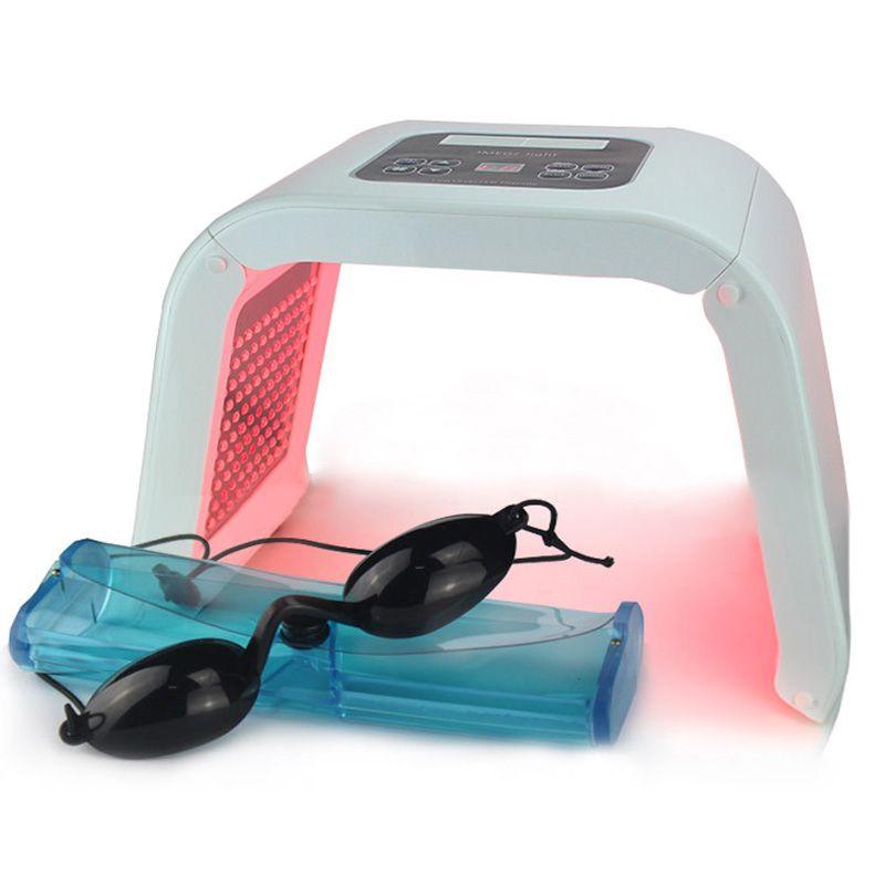 NEUE Professionelle PDT Led Photon Licht Gesichtsmaske Maschine 7 Farben Akne-behandlung Gesicht Whitening Hautverjüngung Lichttherapie