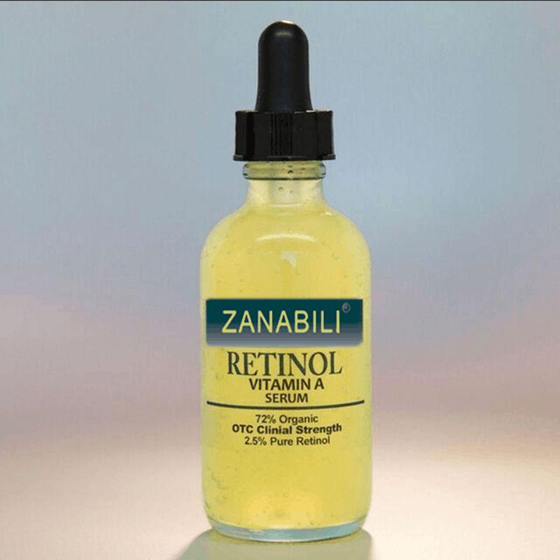 Rétinol pur Vitamine A 2.5% + Acide Hyaluronique Soins de La Peau Crème acné Enlèvement Des Taches Du Visage Sérum Anti Rides Blanchissant Visage crème