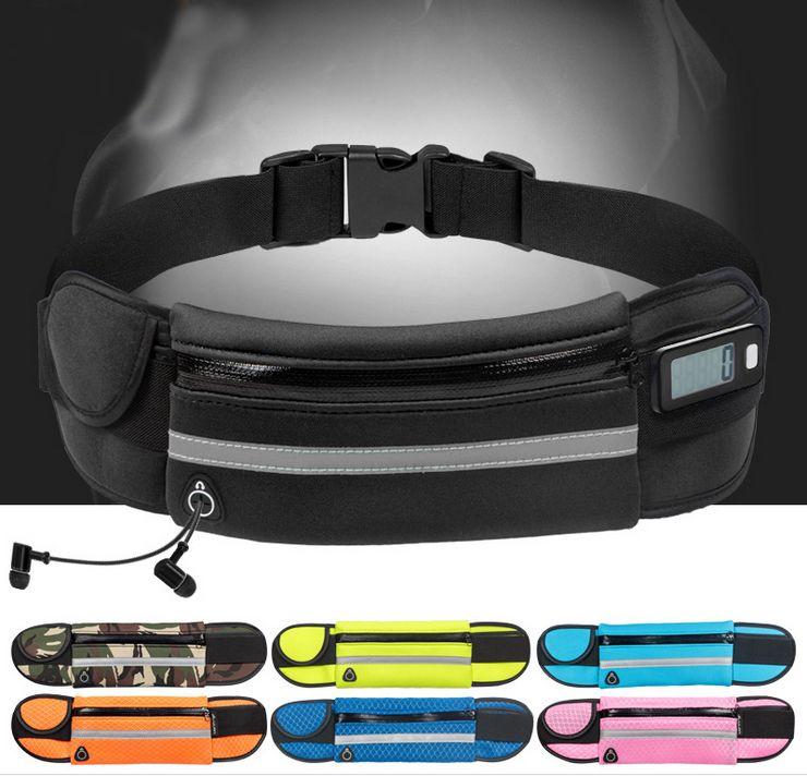 Women Sport Waist Bag Waterproof Waist Pack Running Hiking Hydration Waist Gym Bag Tactical  Phone Bike Outdoor Belt