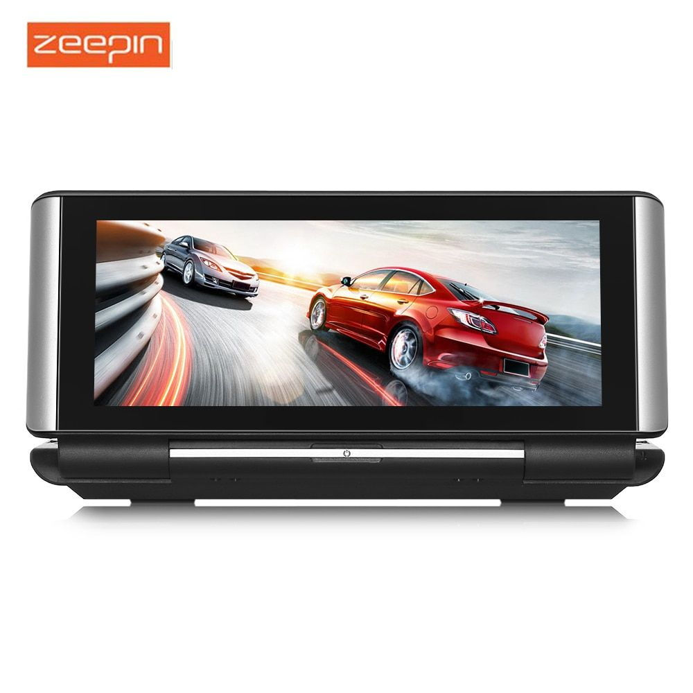 ZEEPIN 683 Car DVR 4G Android WiFi GPS Rearview Mirror Dash Cam With 140 Degree 1080P Resolution Driving Recorder