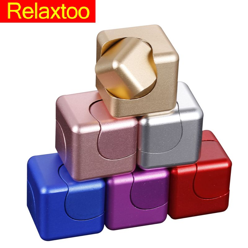 Fidget Spinner Deform Fidget Cube Gyro Squeeze Meatl hand Toys Relief Anxiety Anti-stress For Adults Figet Cubic table Spinner