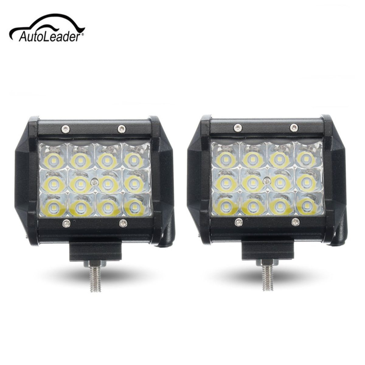72W 5 Inch LED Car Day Light Spot Light Lamp Bright Light Work Assembly for Motorcycle Driving Offroad Boat Car Tractor Truck