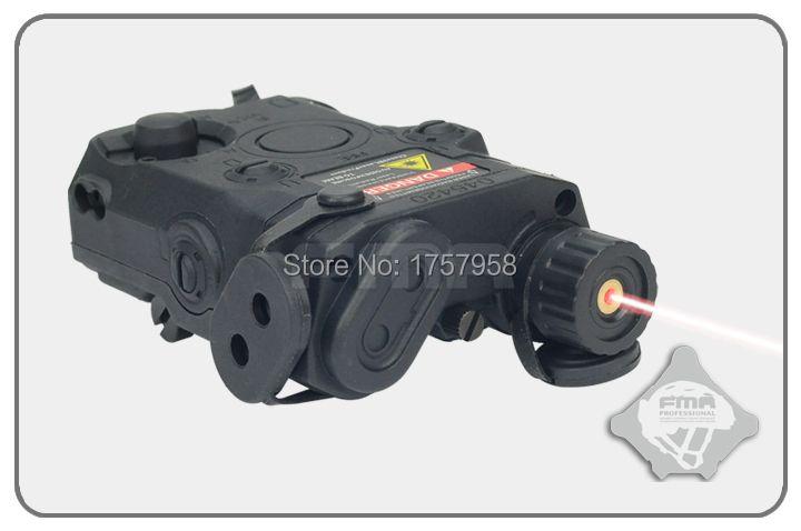 FMA AN/PEQ 15 Style boîtier de batterie avec Laser rouge étui de PEQ-15 tactique nouvelle Version TB495 TB496 TB497