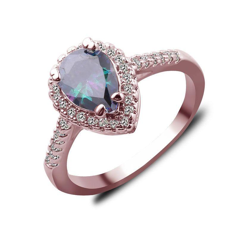 koraba ew cute hot sale silver ring jewelry fashion charm woman wedding stone lady high quality crystal CZ Ring