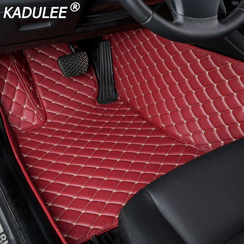 KADULEE auto boden matte Für lexus gs nx rx ct200h lx470 ist 250 lx570 LX570 NX200 CT200 ES GS IST LS auto zubehör machen nach matte