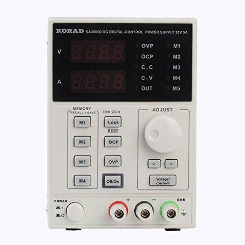 High quality KORAD KA3005D 0~30V 0~5A Precision Variable Adjustable DC Power Supply Digital Regulated Lab Grade for Phone Repair