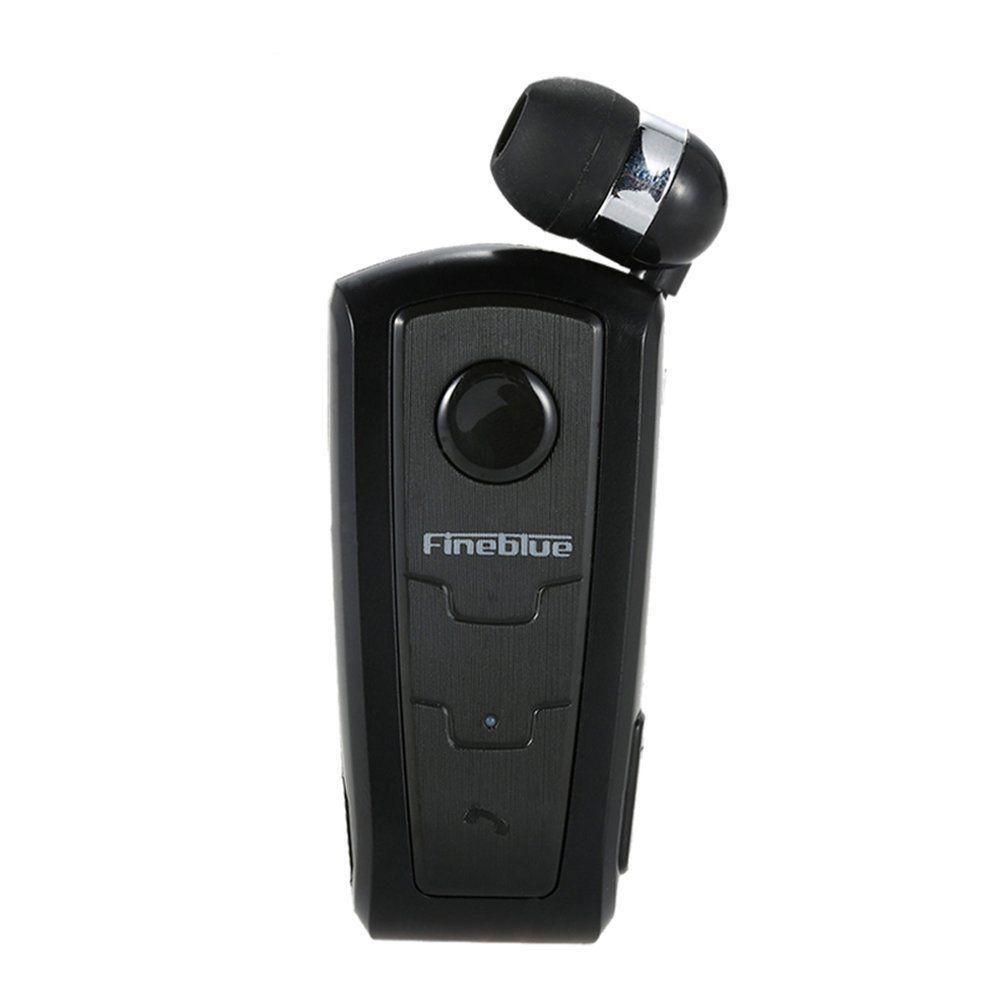 Fineblue F910 Wireless Bluetooth V3.0 Headset In-Ear Earphone Vibrating <font><b>Alert</b></font> Wear Clip Hands Free for Smartphones Hands Earbud