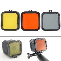 Für GoPro Acessorios Hero4 Sitzung Tauchen Polarisator Linsen Unterwasser Dive Objektiv Filter Für Go Pro Hero 4 Sitzung Action Kamera