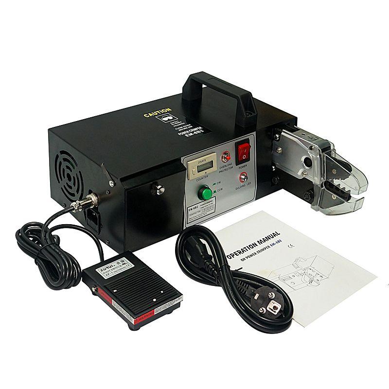 EM-6B2 Elektrische Terminal Crimpen Maschine mit Crimpen und Abisolieren funktion Sind 7 stücke Crimpen Form