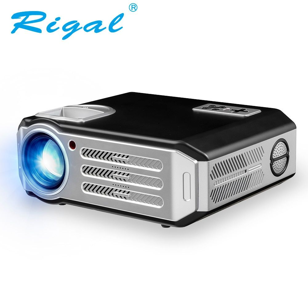 Rigal RD817 FÜHRTE Projektor Android 3500 Lumen Smart WIFI Projektor Video HDMI USB Full HD 1080 P Projetor TV Heimkino Beamer