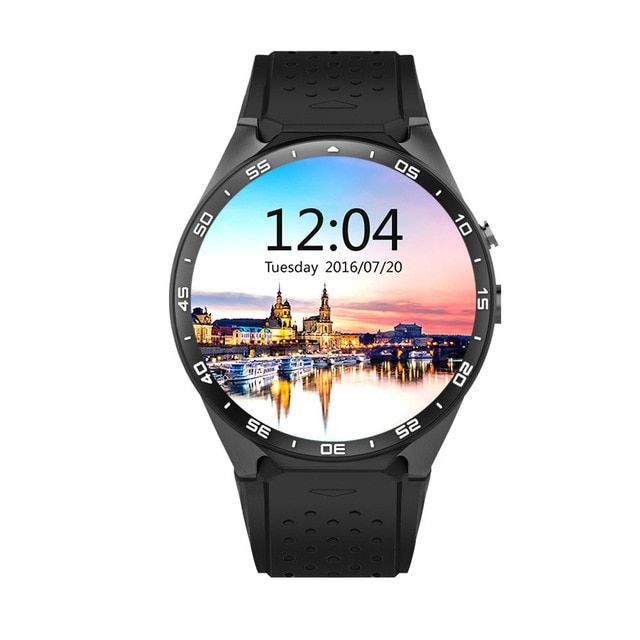 100% Original KW88 Android 5.1 OS Smart Watch Android 1.39 inch MTK6580 SmartWatch phone support 3G wifi nano SIM WCDMA
