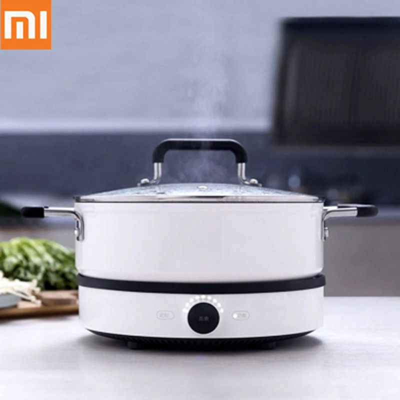2019 Xiaomi Mijia Induction Cookers Mi Home Smart Creative Precise Control Induction Plate Tile Hot Pot App Remote Control 220V