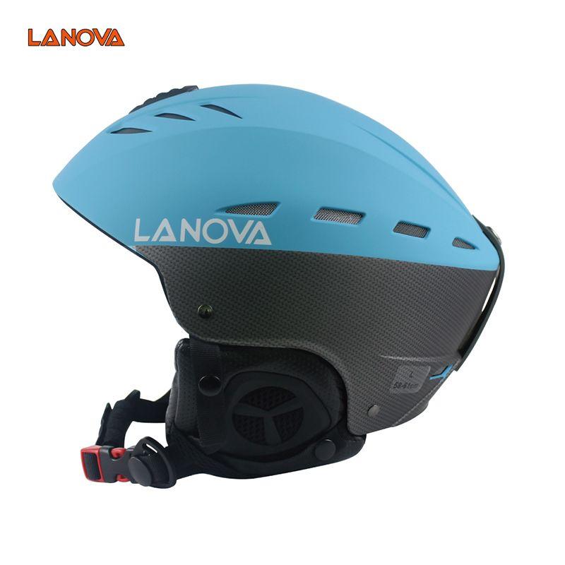 LANOVA brand ski helmet adult ski helmet man skating / skateboard helmet multicolor snow sports helmets