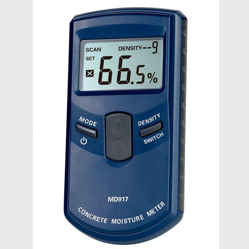 Portable Digital Concrete Wall Moisture Meter Range 0-40% Adopt HF Electromagnetic Sensing LCD Timber Damp Detector Hygrometer