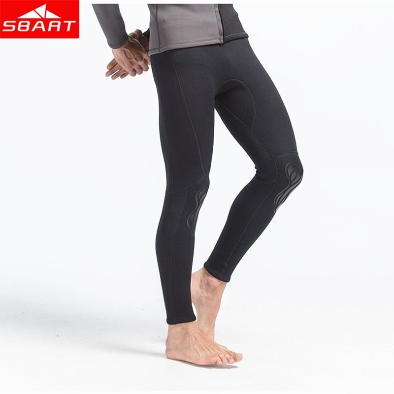 SBART 3MM Neoprene Diving Wetsuits Pants Men Surfing Diving Sports Leggings Swimsuits Pant Legging Swim Surf Dive Swimwear Pants