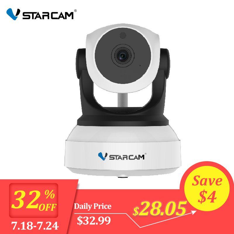 Caméra IP d'origine Vstarcam 720P C7824WIP Surveillance Wifi caméra de vidéosurveillance caméra de sécurité IR Vision nocturne caméra PTZ vue Mobile