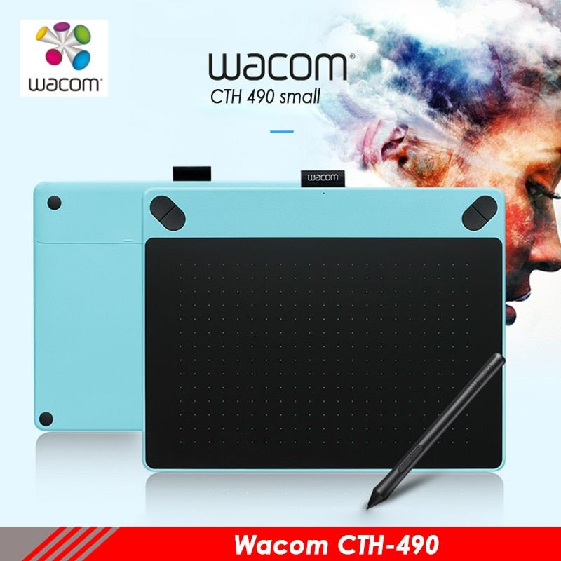 Wacom intuos Kunst cth490 digitale tabletten malerei elektronische bord anime design professionelle tablet