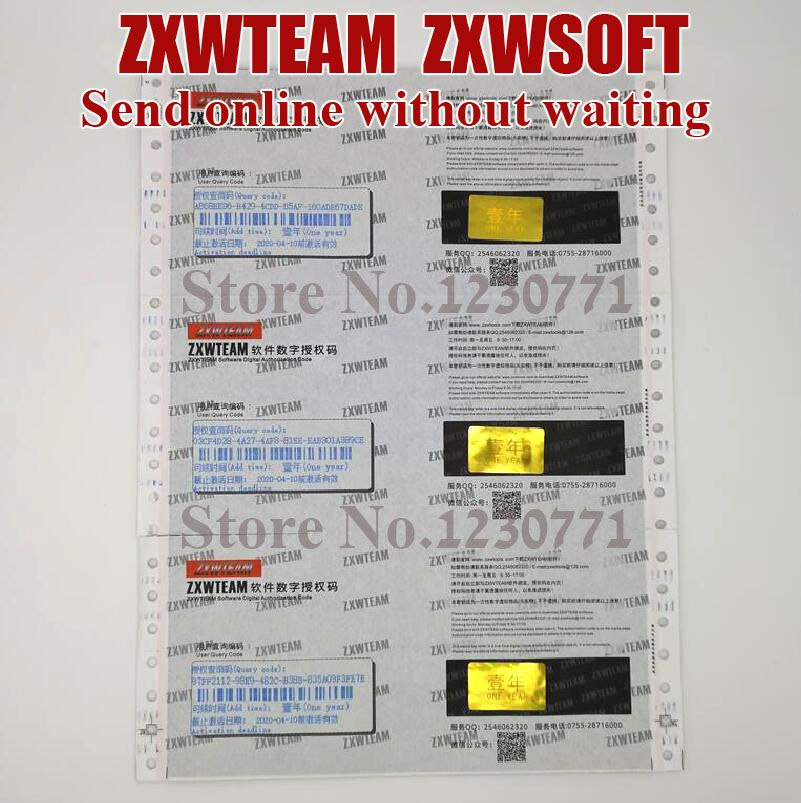 2019 Original ZXWTEAM ZXWSOFT 3.0 software Mobile phone repair  drawing 1 year (No shipping, time waiting, online delivery)