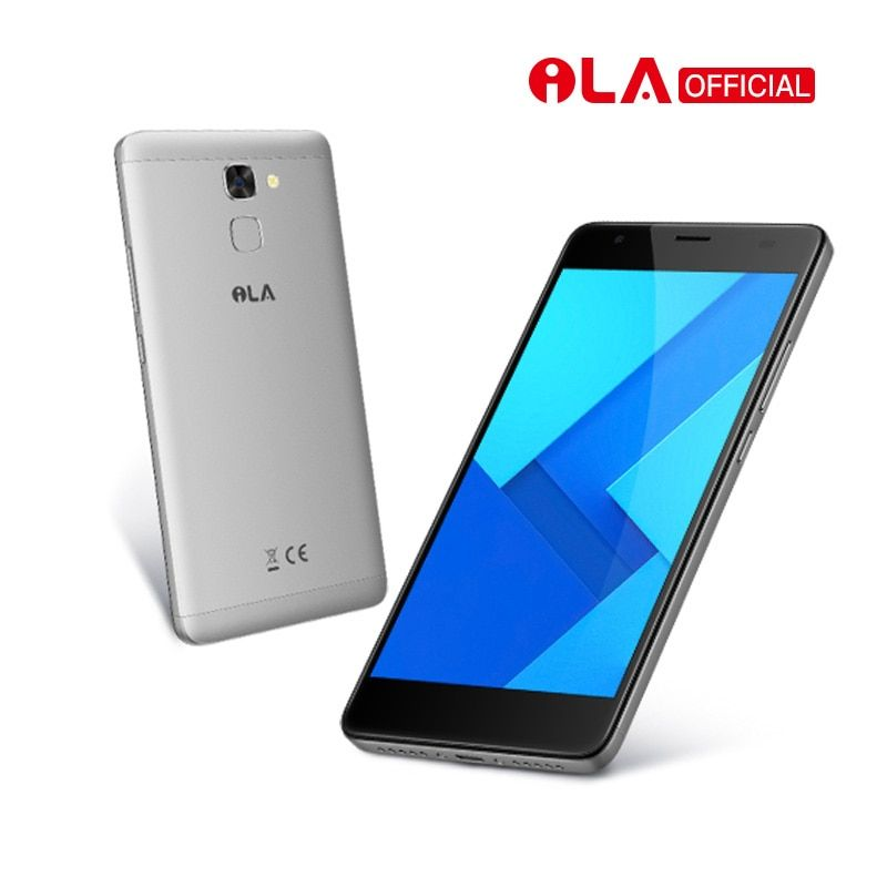 iLA S1 Mobile Phone MT6737T Quad Core 5000mAh Smartphone 5.5 Inch FHD 2GB RAM 16GB ROM Back Fingerprint Android Cell phone