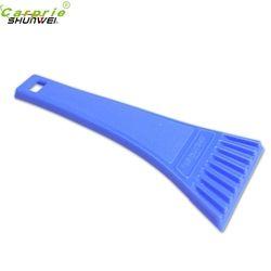 18*8 cm Bleu De Voiture Neige véhicule Glace Grattoir SnoBroom Balai À neige Pelle Enlèvement Brosse Hiver CARPRIE ABS