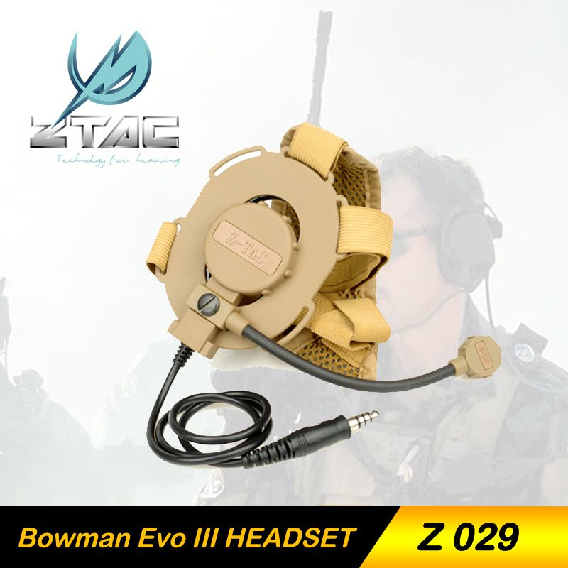 Z-TAC Z 029 3 colores Airsoft militar Elemento Z-Tactical Bowman Evo III Para Airsoft Paintball Caza Hunting Tactical Headset