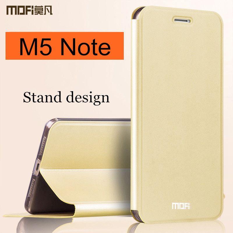 meizu m5 note case MOFi original flip cover m5 note case cover silicon leather fundas coque note 5 m5note capa luxury 5.5