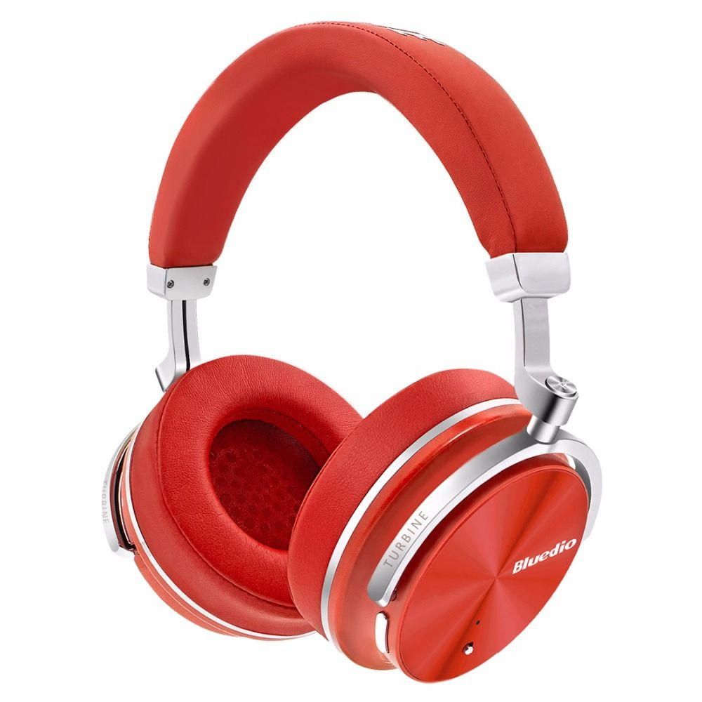 2017 Original Bluedio T4S Active Noise <font><b>Cancelling</b></font> Wireless Bluetooth headphones ANC Edition headset 3D Sound around the ear