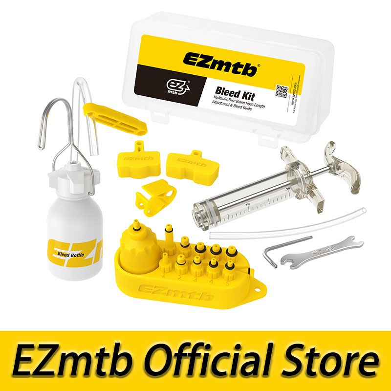 EZMTB Bicycle universal Hydraulic Bleed Kit Lite Version for shimano&tektro&magura&hayes&formula&sram&avid&giant&nutt brake
